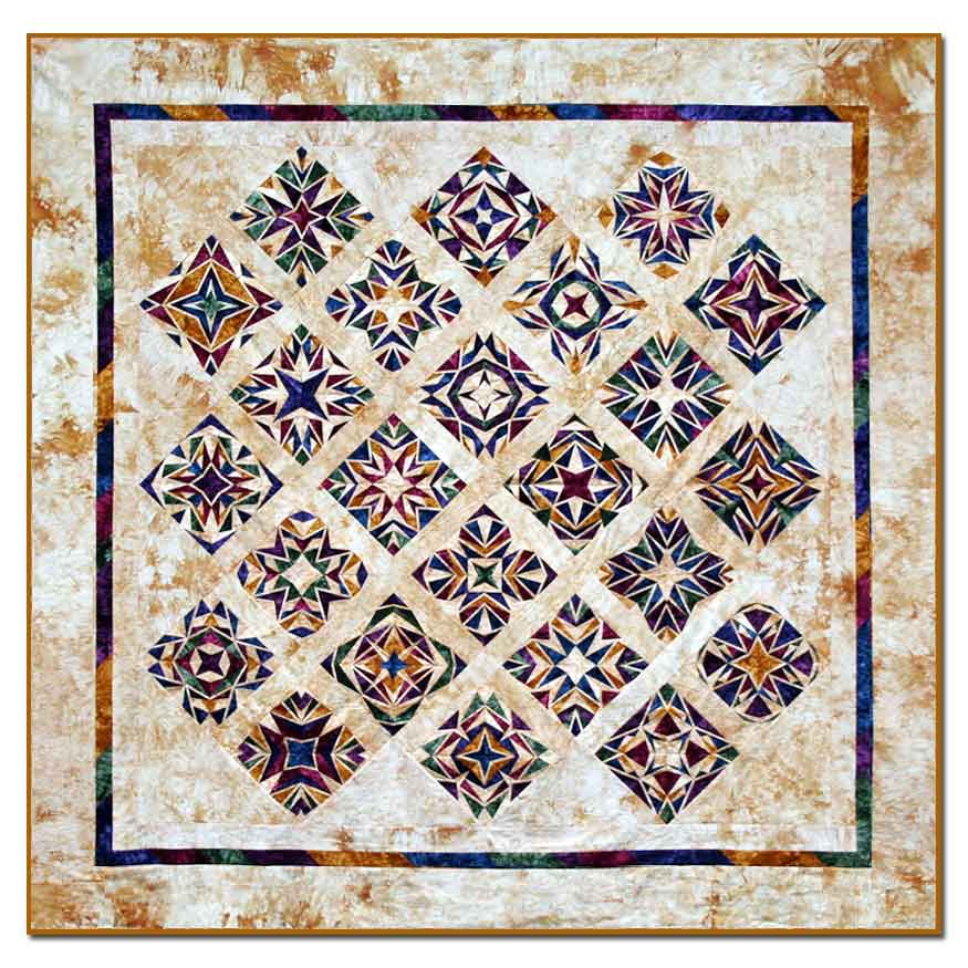 Country Magic King Size Quilt Kit All At Once