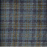 Need'l Love Wools - Blue & Gold Plaid - by Renee Nanneman for Andover Fabrics