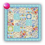 2020 Simply Cute & Quick <br> Beginner Kit #1<br><br><i>Beachy Dayz Quilt Kit</i><br>
