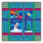 Holiday Lights Lap Size Quilt Kit