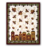 <i>Last One!</i><br>  Hometown Harvest Quilt Kit by The Quilt Company <i><b>Includes Backing!</i></b>