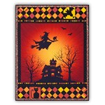 Homespun Hearth Exclusive!  Frightful Flightful Night - Complete Quilt Kit