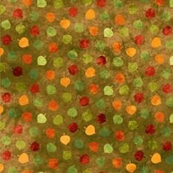 Artisan Spirit Falling Leaves- Aspen Leaves on Olive