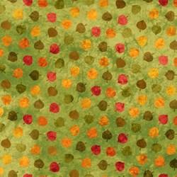 Artisan Spirit Falling Leaves- Aspen Leaves on Lime