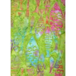 MOD FISH Calypso - Batiks  by Michael Miller Fabrics