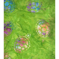 Sea Turtles - Calypso - Batiks  by Michael Miller Fabrics