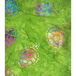 Sea Turtles - Calypso - Batiks  by Michael Miller Fabrics