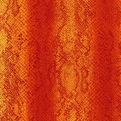 Rainforest Romp- Snake Skin Red/Orange - by Linda Ludovico for Stonehenge