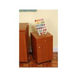 Suzi Storage Sidekick Cabinet by Arrow - Cherry