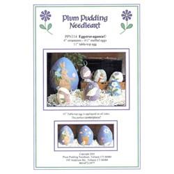 Eggstravaganza Pattern - Plum Pudding Needleart
