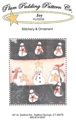 Joy Stitchery & Ornament- Plum Pudding Pattern Co.