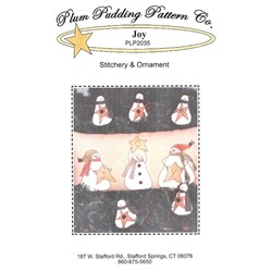 Joy Stitchery & Ornament- Plum Pudding Pattern Co.