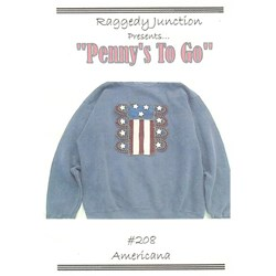 Penny's To Go Pattern - Americana by Raggedy Junction