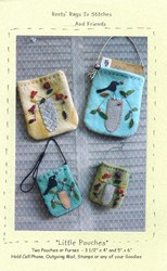 Little Pouches - Reets Rags To Stitches
