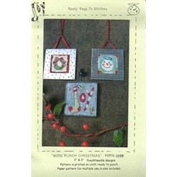 Mini Punch Christmas - Reets Rags To Stitches