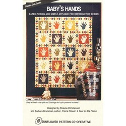Baby's Hands- Sunflower Pattern Co-Operative