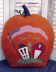 Stitch~n~Stuff Pumpkin  Pattern<br>by Threads That Bind
