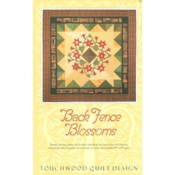 Back Fence Blossoms PatternTouchwood Quilt Design