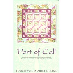 Port Of Call PatternTouchwood Quilt Design