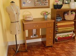 Auntie Oakley  Sewing Machine Cabinet by Arrow