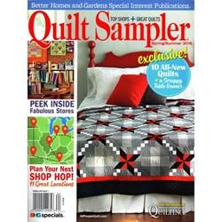 Quilt Sampler Spring/Summer 2016