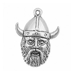 Viking Head Charm