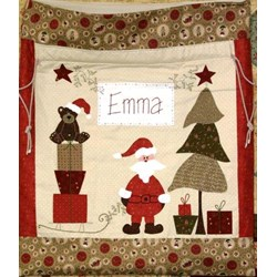 Santa Sack Pattern by Fig 'n' Berry Creations
