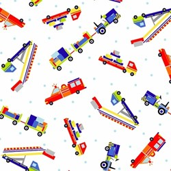 Airshow Firetrucks - #1215-17 by by First Blush Studios for He