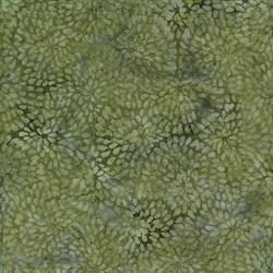 Island Batik Ogee Petal Pond- Moss - Twilight Blush Collection