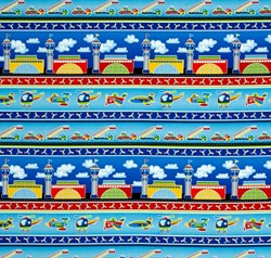 """14"""" Remnant- Airshow Border Stripe - #1218 - by by First Blush Studios for He"""