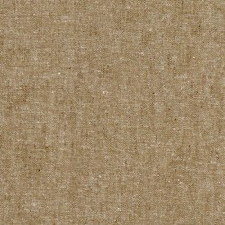 """Taupe"" Essex Yarn Dyed Linen Blend by Robert Kaufman"