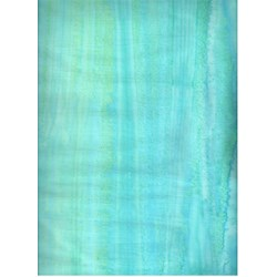Anthology Hand Made Batik - Aqua Stripes