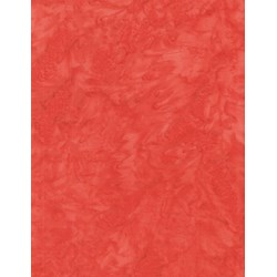 Anthology Chromatic Solid Batik - Peachy Red