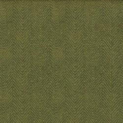 Woolies Flannel - Green  Herringbone - by Maywood Studios