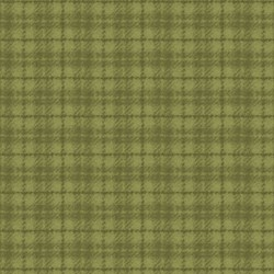 Woolies Flannel - Green Plaid - by Maywood Studios