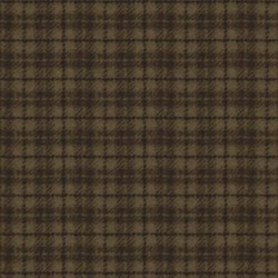 Woolies Flannel - Tan/brown Plaid - by Maywood Studios