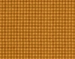 "12"" Remnant  - Woolies Flannel - Gold Houndstooth  - by Maywood Studios"