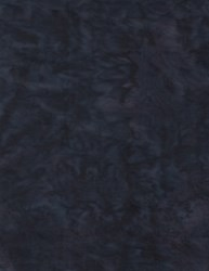 "24"" Remnant -  -  - Anthology Chromatic Solid Batik - Dark Blue/Black"