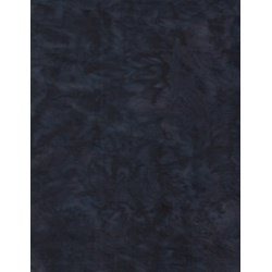 "End of Bolt - 67"" -  - Anthology Chromatic Solid Batik - Dark Blue/Black"
