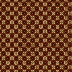 Pumpkin Farm  - Rust Clover Checkerboard