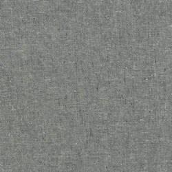 """Graphite"" Essex Yarn Dyed Linen Blend by Robert Kaufman"