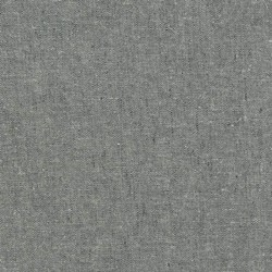 """Graphite"" Essex Yarn Dyed Linen Blend by Robert Kaufman"