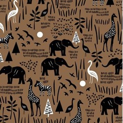 Paper Art Safari - Sienna Safari Scene #51141-1 by Windham