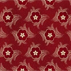 """End of Bolt - 66"""" - Gettysburg Era - Floral Sketch  by Sara Morgan by Washington Street Studios for P&B Fabrics"""