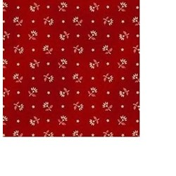 Gettysburg Era - Red Floral  by Washington Street Studios for P&B Fabrics