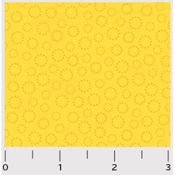 Bear Essentials - Yellow Circly Dots - by P&B Textiles