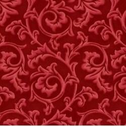 Songbird Christmas - Red Scroll