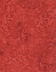 Wilmington Scroll - Rusty Red