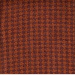 Need'l Love Wools - Dark Orange Houndstooth - by Renee Nanneman for Andover Fabrics