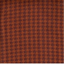 Need'l Love Wools - Dark Orange Houndstooth - by Renee Nanneman for Andover Fabrics